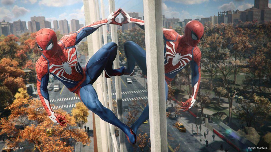 Spider-Man Remastered grafika