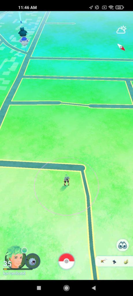 Pokemon Go na Xiaomi Mi 10T Pro