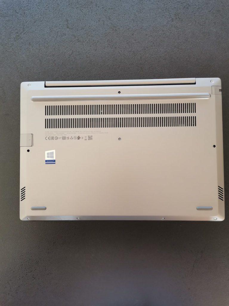 Lenovo ThinkBook 14 spod laptopa