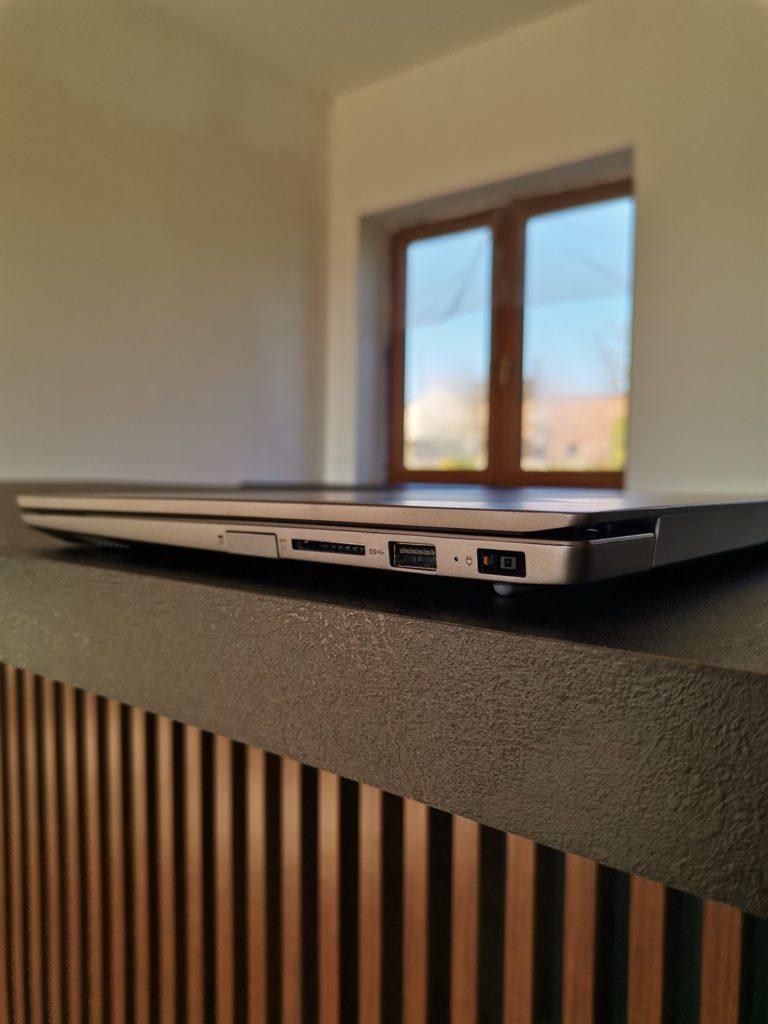 Lenovo ThinkBook 14 zlacza prawa strona