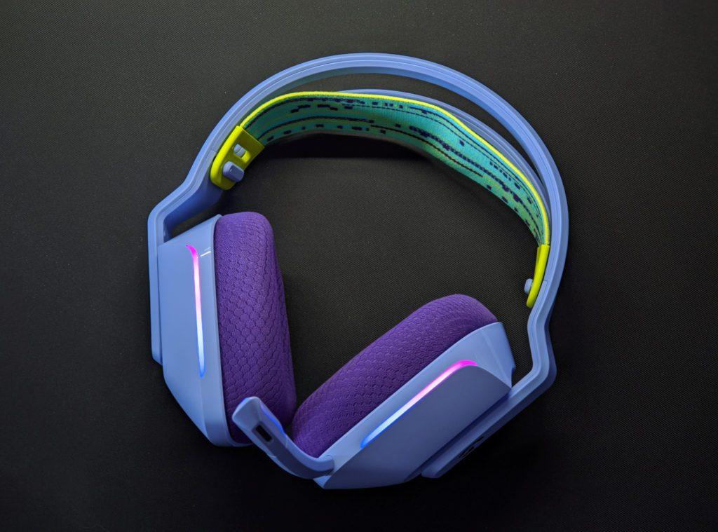 Logitech G733 LIGHTSPEED całe słuchawki
