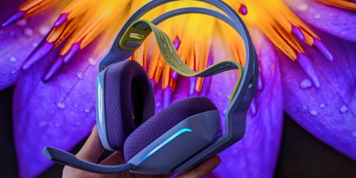 Recenzja słuchawek Logitech G733 LIGHTSPEED – wygodnie i ślicznie niczym na łące pełnej kwiatów