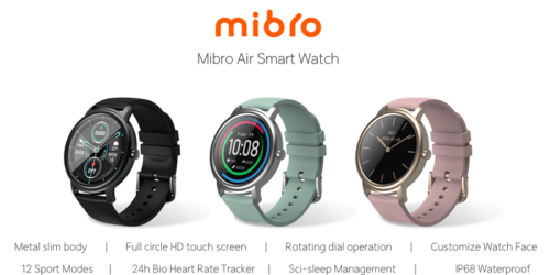 Poznajcie Mibro Air, czyli nowy smartwatch z rodziny Xiaomi