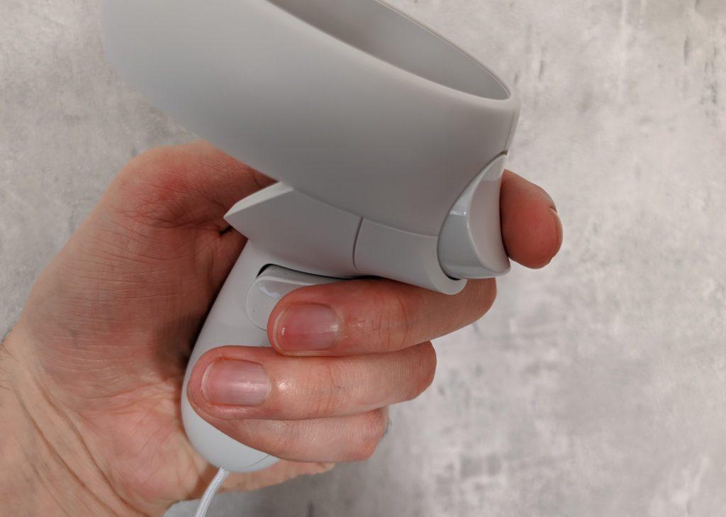 Oculus Quest 2 triggery kontrolera