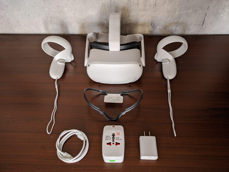 Oculus Quest 2 zawartość opakowania