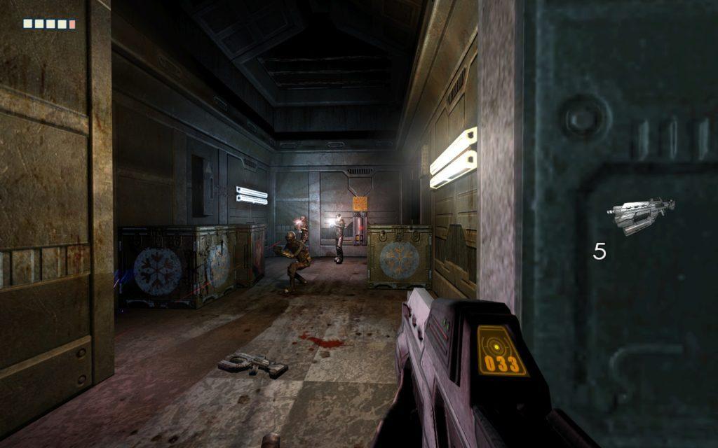 The Chronicles of Riddick strzelanie z karabinu