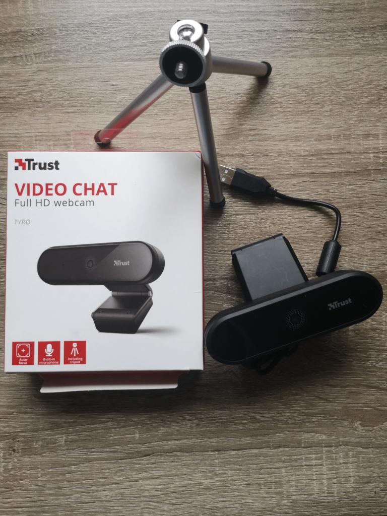Kamera internetowa Trust Tyro Full HD webcam recenzja