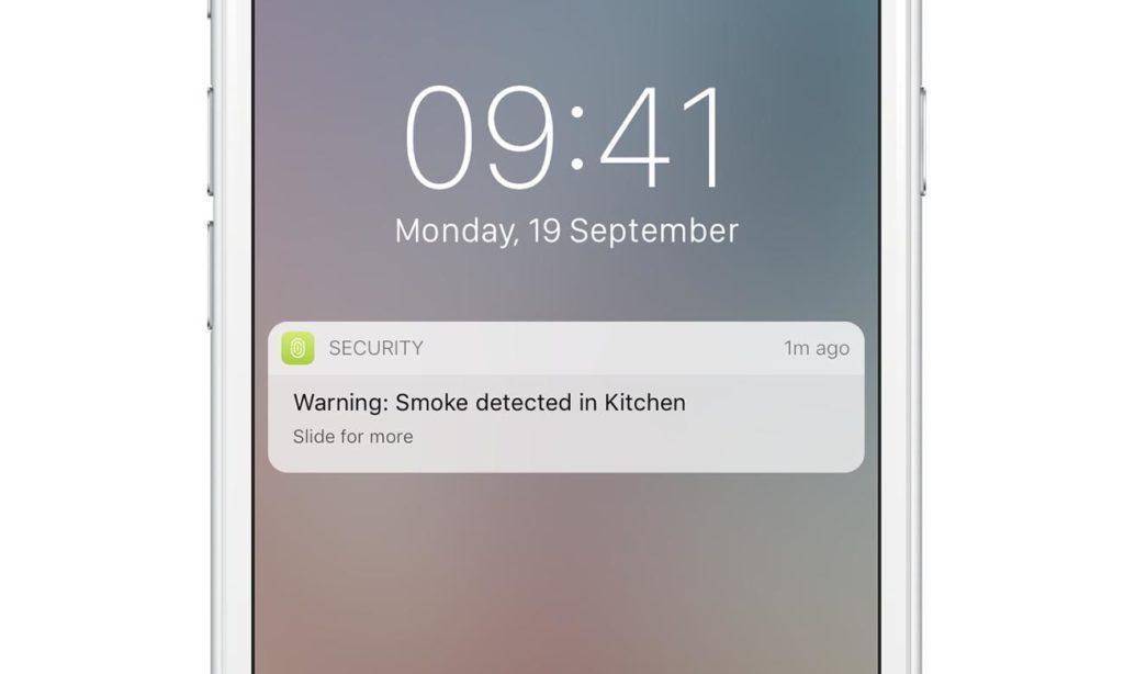 alarm o wykryciu pożaru