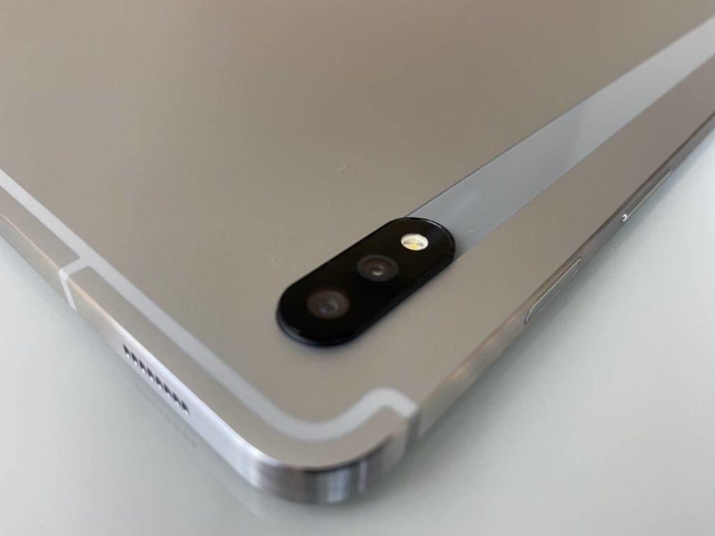moduł aparatu w Galaxy Tab S 7