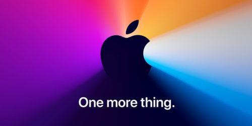Konferencja Apple w listopadzie zapowiedziana. Nadchodzi nowy MacBook?