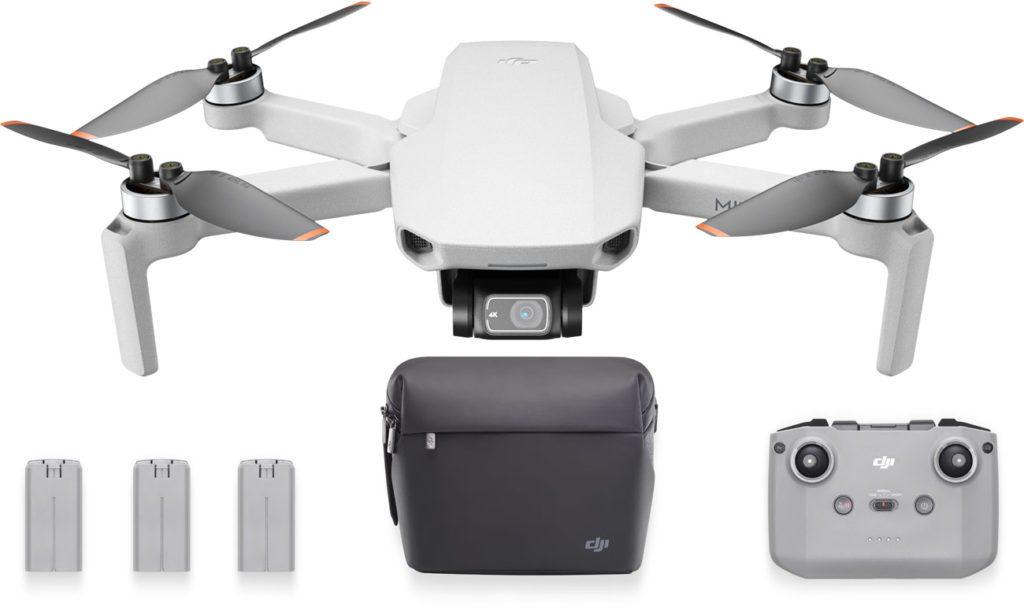 dron dji mini 2 fly combo