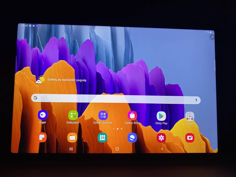 ekran Galaxy Tab S7