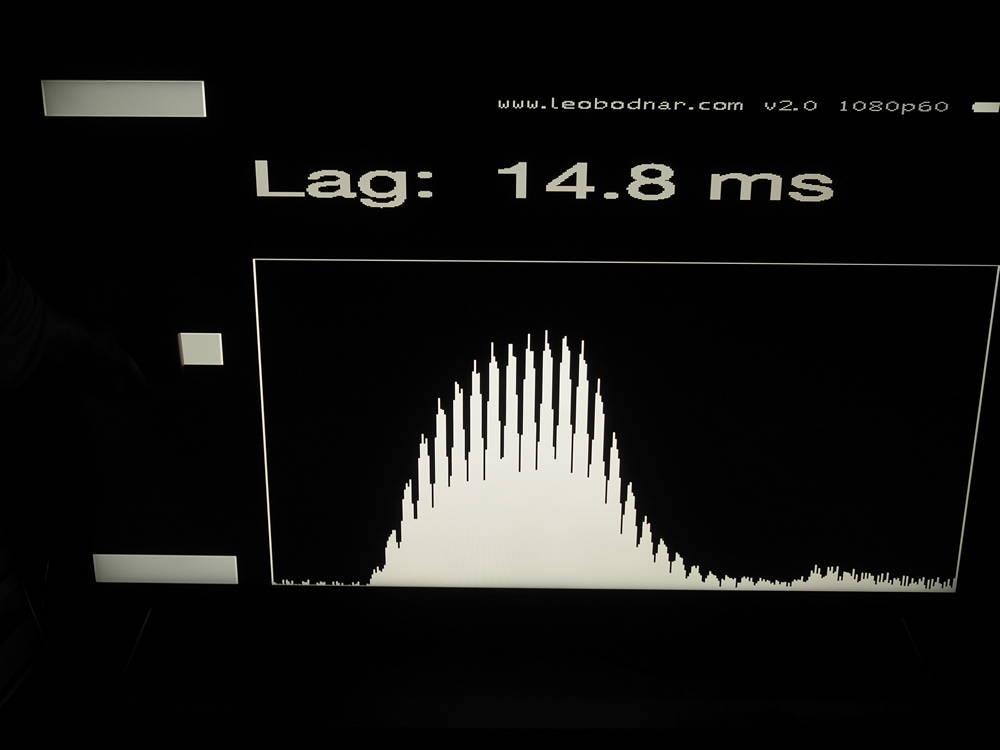 input lag sony 55xh9005