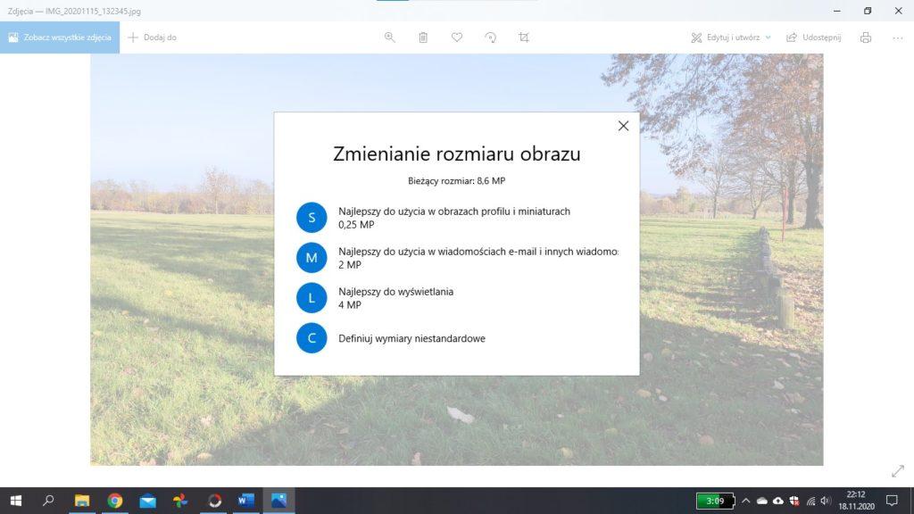 Jak zmienić rozdzielczość Windows