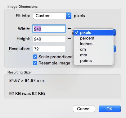 Jak zmienić rozdzielczość Macbook