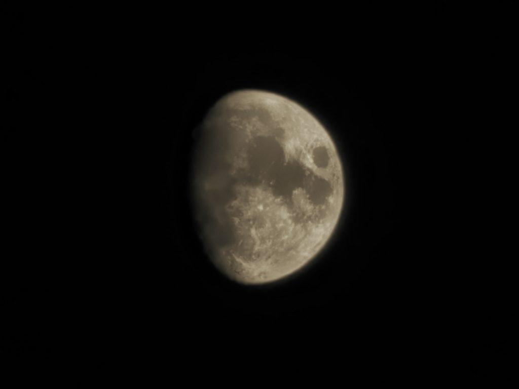 zdjęcie księżyca vivo X51