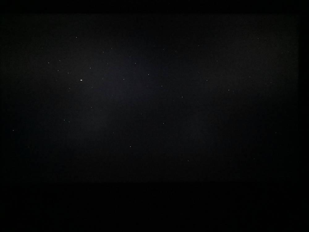pierwszy człowiek - kadr z filmu na ekranie lg 55oled913