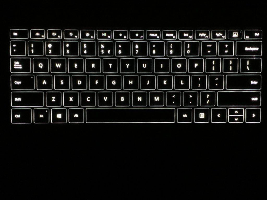 podświetlenie klawiatury