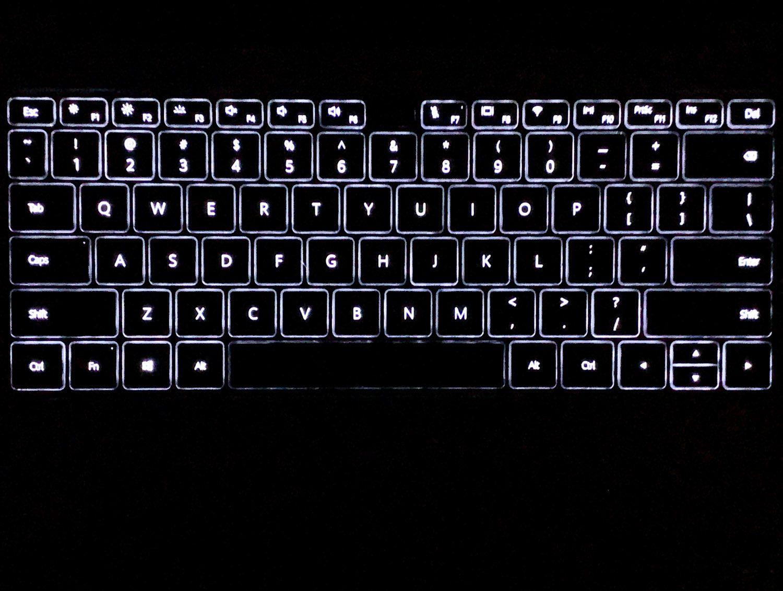 podświetlenie klawiatury matebook 14