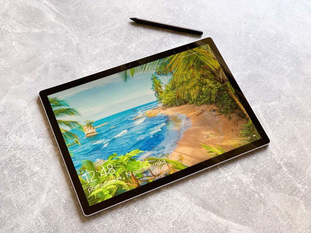 tryb tabletu surface book 3