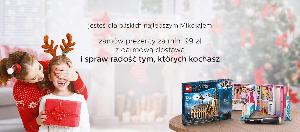 promocja w al.to mikołajki darmowa dostawa od 99 zł