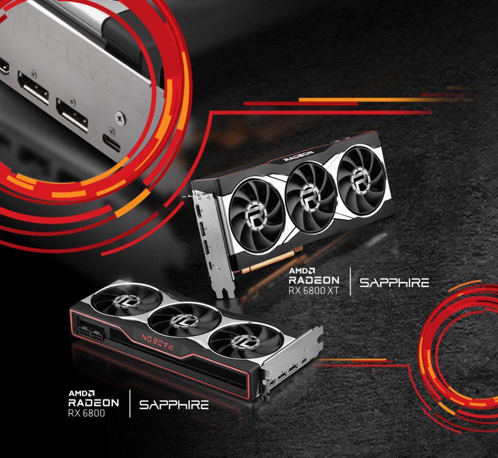 Premiera AMD Radeon RX 6800
