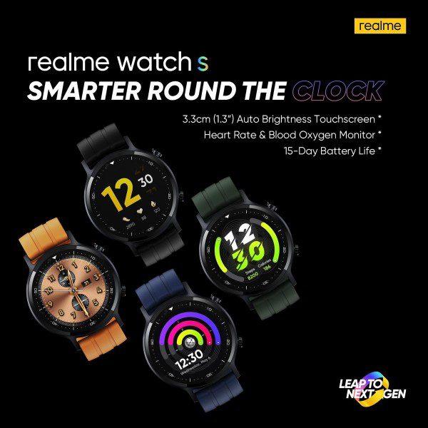 Realme Watch S zaprezentowany. Co oferuje najnowszy zegarek chińskiego producenta?