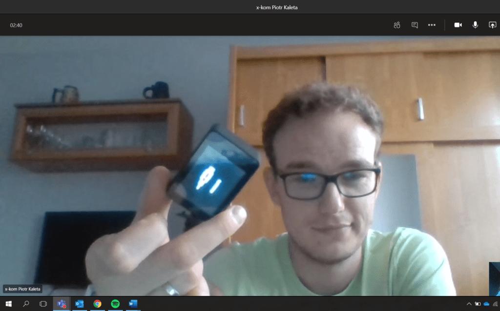 screen kamery hd w laptopie