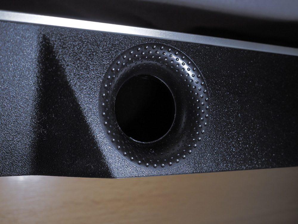 wygląd fragmentu soundbara, w który wyposażono philipsa 55pus9435