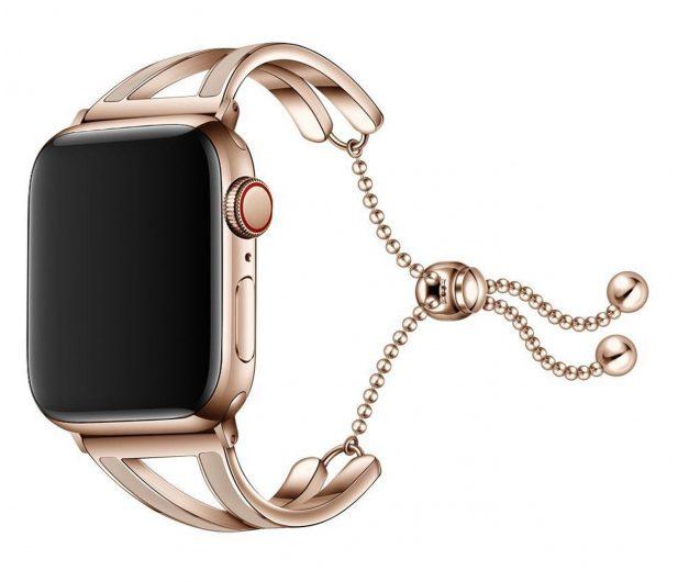 Tech-Protect Bransoleta Chainband do Apple Watch złoty