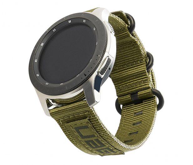 UAG Pasek Sportowy do smartwatcha Nylon Nato oliwkowy