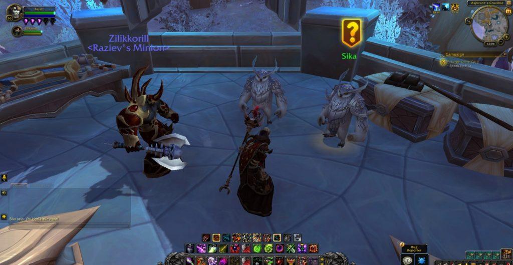 World of Warcraft: Shadowlands premiera gry