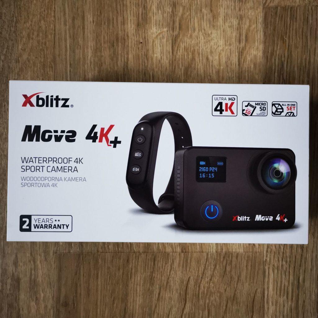 Xblitz Move 4K+ opakowanie