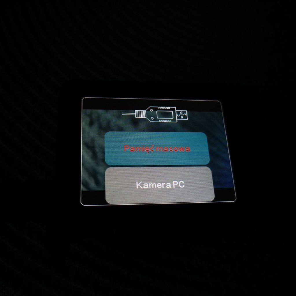 Xblitz Move 4K+ wybór funkcji transmisji