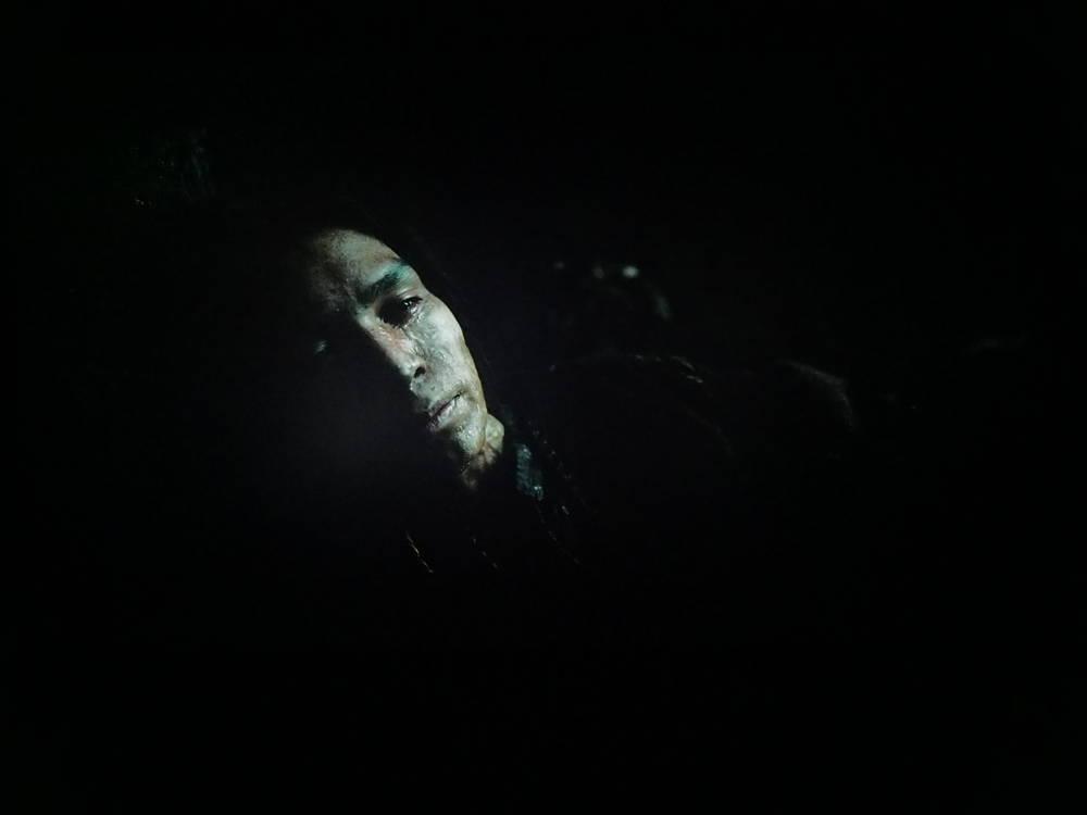 scena z filmu zjawa na ekranie lg 55nano913