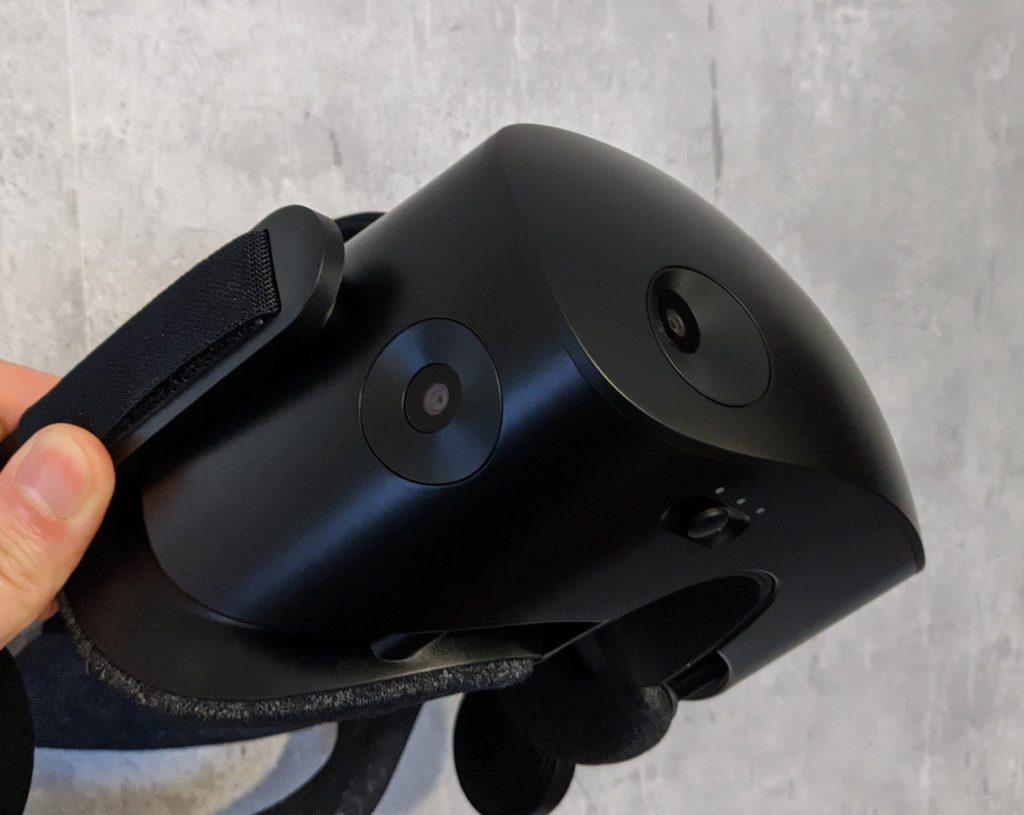 HP Reverb G2 dwie kamery