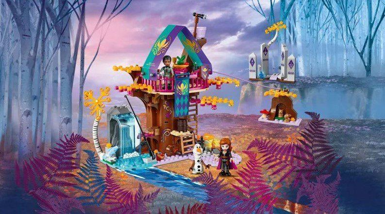 Lego Kraina Lodu domek