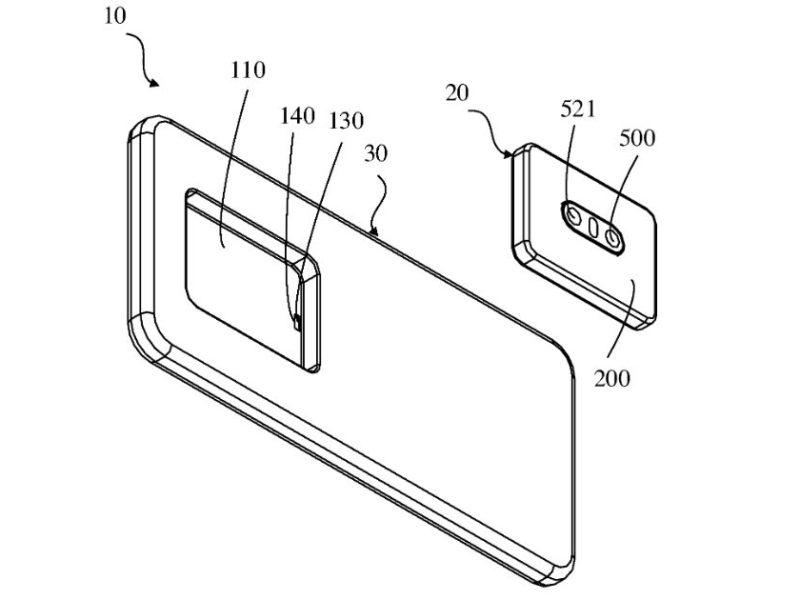 Oppo patentuje odłączany aparat w smartfonie. Jest tyle plusów tego rozwiązania, co minusów
