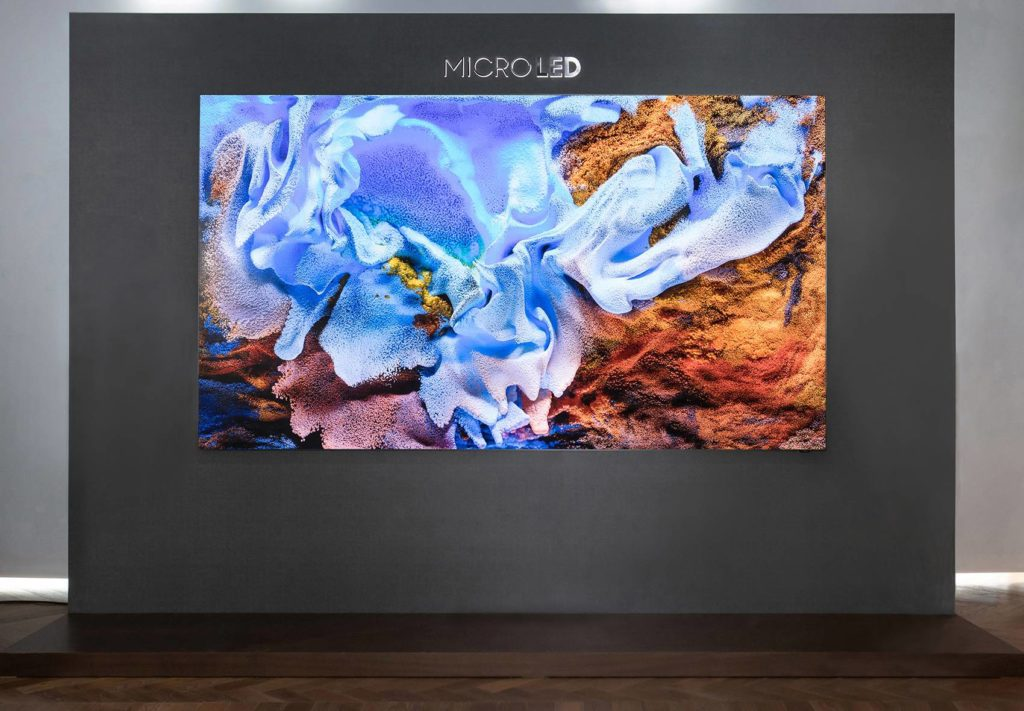 Samsung MicroLED w centrum