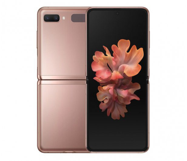 Smartfon Samsung Galaxy Z Flip 5G SM-F707F Brown