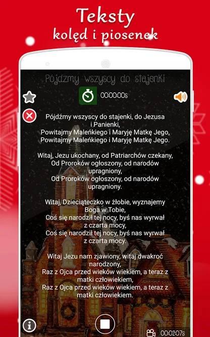 aplikacja kolędy