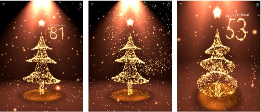 aplikacja - odliczanie świąteczne