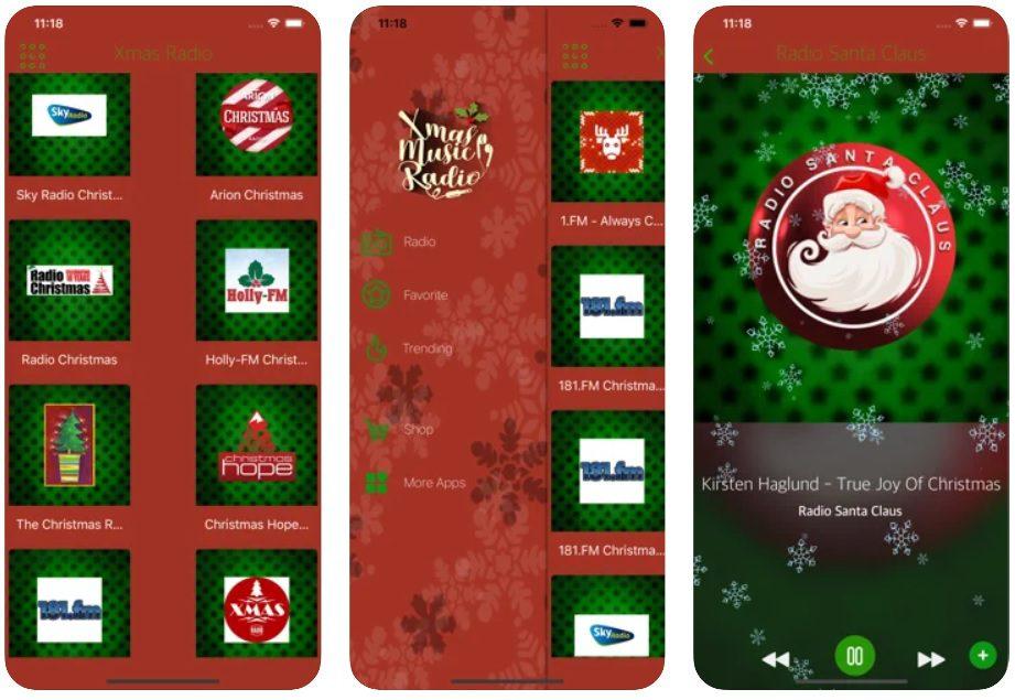 aplikacja świąteczne radio