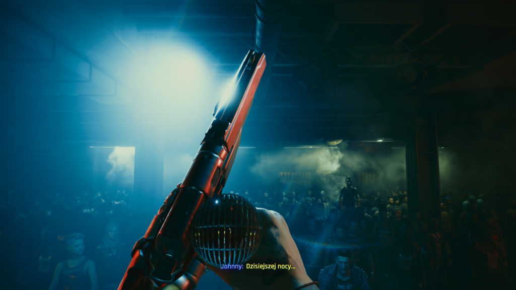 Cyberpunk 2077 koncert Samurai