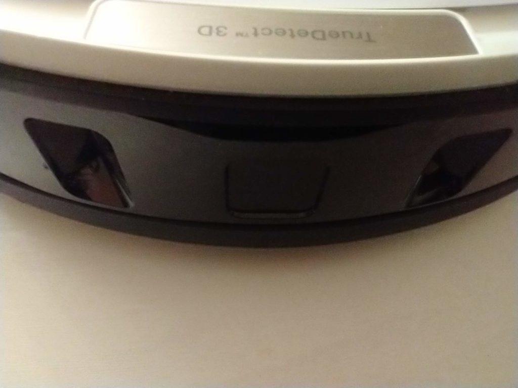 deebot ozmo t8+ front czujniki