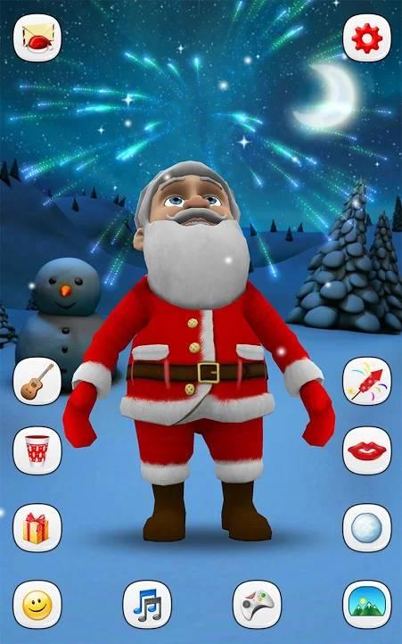 gadający Mikołaj