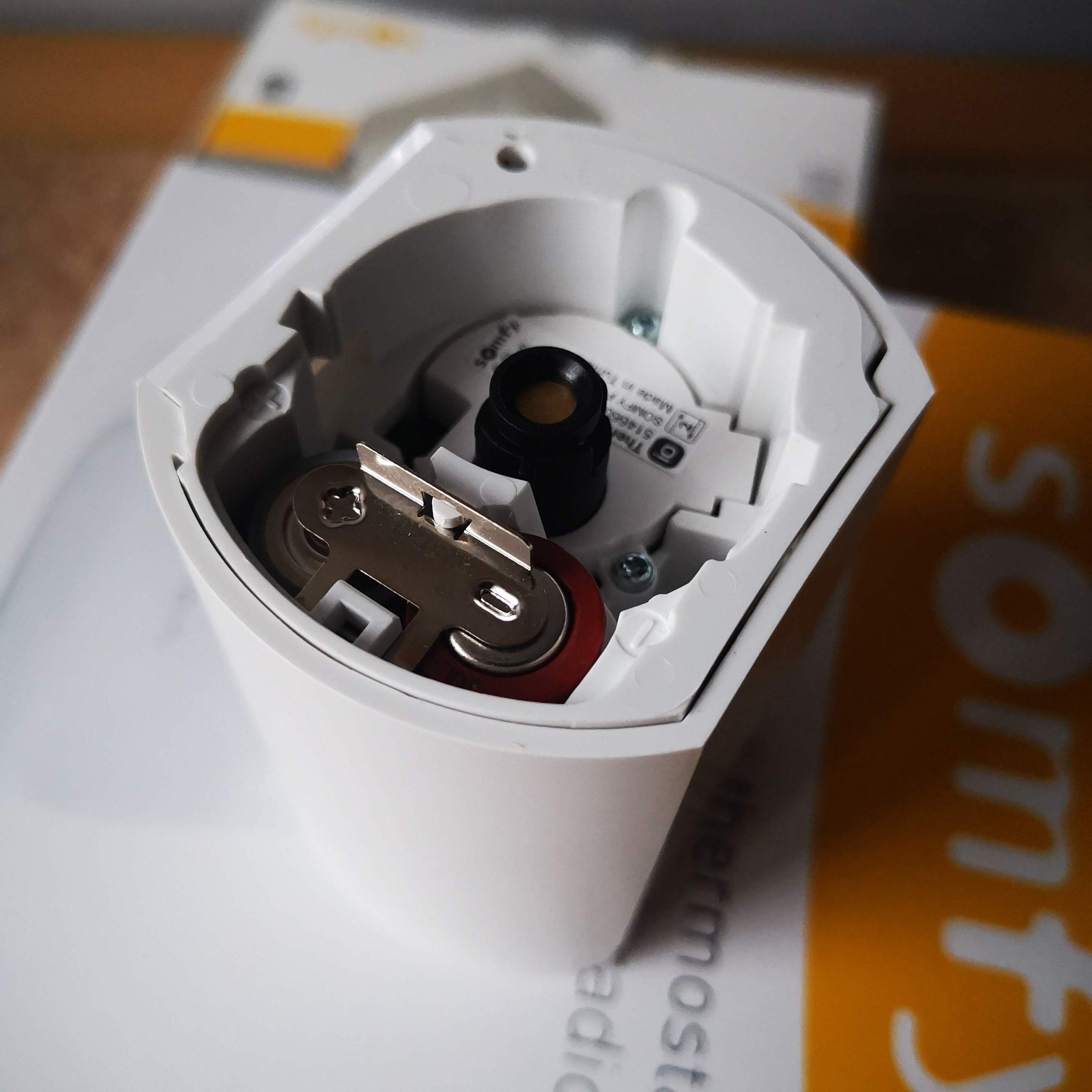 Głowca termostatyczna Somfy baterie