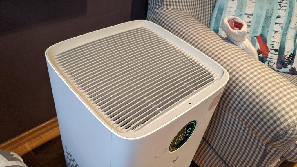 górna ściana viomi smart air purifier pro
