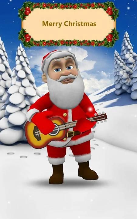 gra gadający Mikołaj