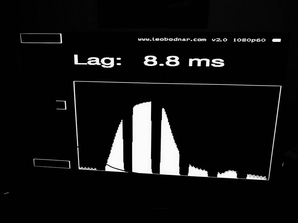 input lag samsunga 65q65t